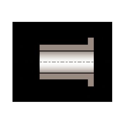 Al 10 13 08 Metric Oilite 174 Flanged Bearing